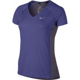 Nike Dámské tričko  Dry Miler Running Dark Iris, L
