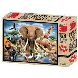 PRIME 3D Puzzle 500 dílků - Africká oáza