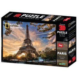 PRIME 3D Puzzle 500 dílků - Eiffelova věž, Paříž