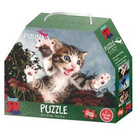 PRIME 3D Puzzle Skákající koťata 3D 3v1