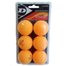 Dunlop Míčky  CLUB CHAMP 6BL (ozanžové) (oranžové)