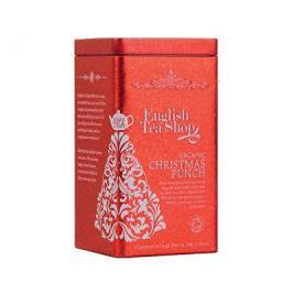 English Tea Shop Vánoční plechovka 15 hedvábných pyramidek, Vánoční punč