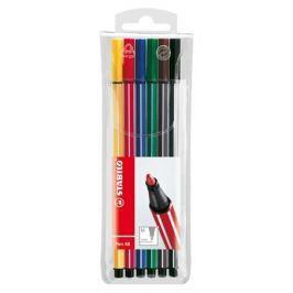 STABILO Fix Pen 68, sada, 6 barev, 1mm,