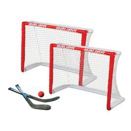 Bauer Branka KNEE HOCKEY GOAL SET - twin pack