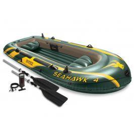 Sedco Nafukovací člun INTEX SEAHAWK 4 Set