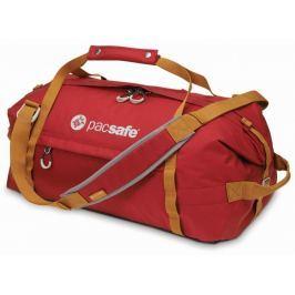 Pacsafe Cestovní taška  Duffelsafe AT45, Červená
