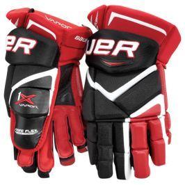 Bauer Rukavice  Vapor 1X Junior, 11 palců, červená