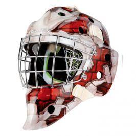 Bauer Maska  NME 4 Wall Yth, červená