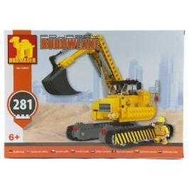Dromader Stavebnice  bagr 92891 281ks v krabici 35x25x6cm