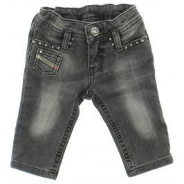 Jeans dětské Diesel | Šedá | Dívčí | 3 měsíce