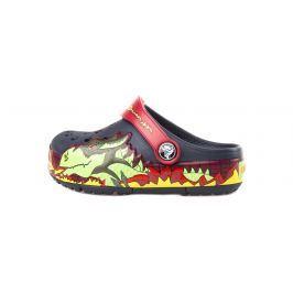 CrocsLights Fire Dragon Clog Crocs dětské Crocs | Modrá | Chlapecké | 22-23