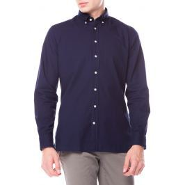 Dyed Oxfort Košile Hackett London   Modrá   Pánské   S