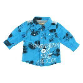 Bunda dětská John Galliano | Modrá | Chlapecké | 6 měsíců