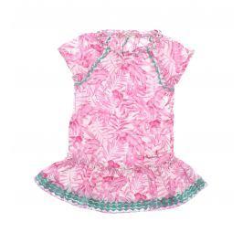 Šaty dětské Pepe Jeans   Růžová   Dívčí   2 roky