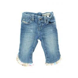 3/4 kalhoty dětské Diesel | Modrá | Dívčí | 6 měsíců
