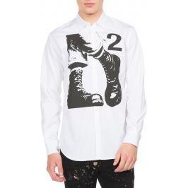 Košile DSQUARED2 | Bílá | Pánské | M