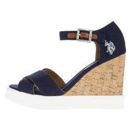 Norma1 Klínová obuv U.S. Polo Assn | Modrá | Dámské | 40