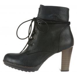 Kotníková obuv Tom Tailor   Černá   Dámské   40