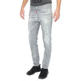 Skater Jeans DSQUARED2 | Šedá | Pánské | IT-48