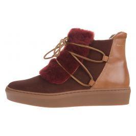 Anne Kotníková obuv Gant | Červená Hnědá | Dámské | 38