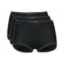 Basic+ Kalhotky 3 ks sloggi | Černá | Dámské | 38