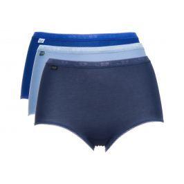 Basic+ Kalhotky 3 ks sloggi   Modrá   Dámské   38