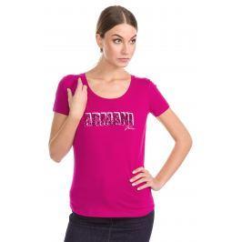 Triko Armani Jeans   Růžová   Dámské   S