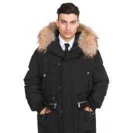 Kabát DSQUARED2 | Černá | Pánské | M