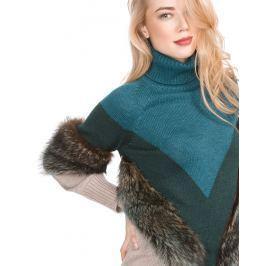 Svetr Versace Collection | Modrá Hnědá | Dámské | XXS