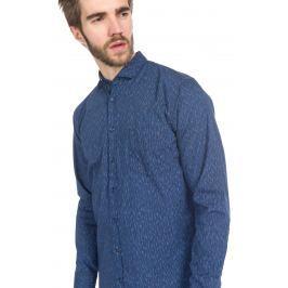 Cattitude Košile Hugo Boss Orange | Modrá | Pánské | XL