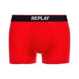Boxerky Replay | Červená | Pánské | L