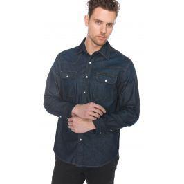 Western Košile Calvin Klein   Modrá   Pánské   S