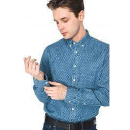 IND Open Dot Košile Tommy Hilfiger | Modrá | Pánské | XL