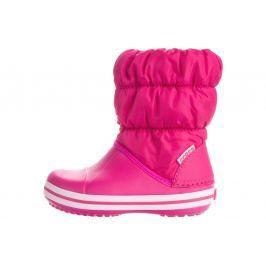 Winter Puff Sněhule dětské Crocs   Růžová   Dívčí   28-29
