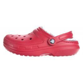 Classic Fuzz Lined Clog Crocs Crocs | Červená | Dámské | 37-38