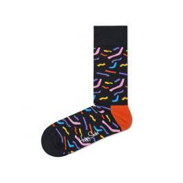Papercut Ponožky Happy Socks | Černá | Dámské | 36-40