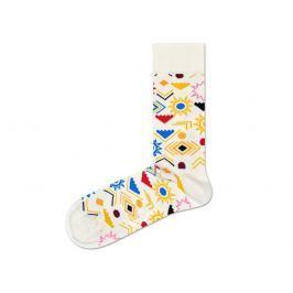 Sign Ponožky Happy Socks | Žlutá Bílá | Dámské | 36-40