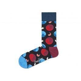 Ying Yang Ponožky Happy Socks   Černá Modrá   Pánské   41-46