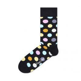 Big Dot 2009 Ponožky Happy Socks   Černá Vícebarevná   Pánské   41-46