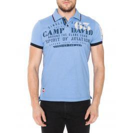 Polo triko Camp David   Modrá   Pánské   L