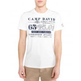 Triko Camp David | Bílá | Pánské | L