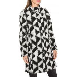 Kabát Fracomina | Černá Bílá | Dámské | XS