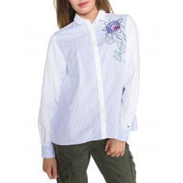 Košile Tommy Hilfiger   Modrá Bílá   Dámské   XS