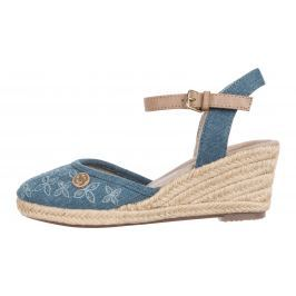 Klínová obuv Tom Tailor | Modrá | Dámské | 38