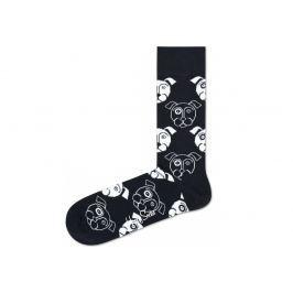 Dog Ponožky Happy Socks   Černá   Pánské   41-46
