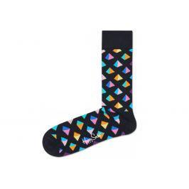 Pyramid Ponožky Happy Socks   Černá Vícebarevná   Pánské   41-46