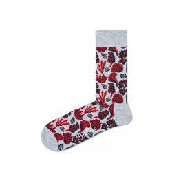 Under The Sea Ponožky Happy Socks   Červená Šedá   Pánské   41-46