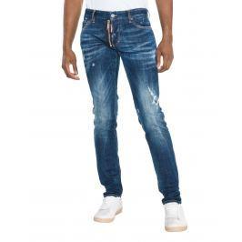 Slim Jeans DSQUARED2   Modrá   Pánské   IT-44