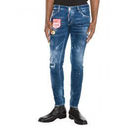 Clement Jeans DSQUARED2 | Modrá | Pánské | IT-44