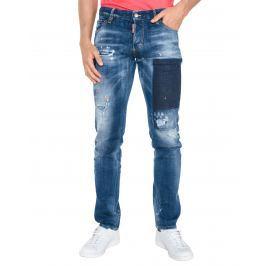 Slim Jeans DSQUARED2 | Modrá | Pánské | IT-44